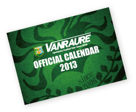 2013オフィシャルカレンダー