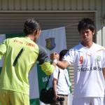 [08] 闘志みなぎるGK1山田賢二とFW9小林定人_1024